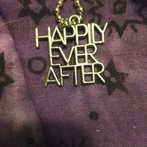 Happily Ever After pendant